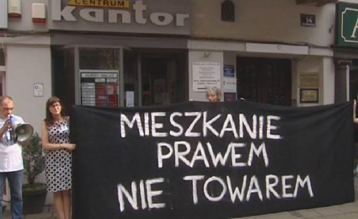 W obronie lokatorów. Aktywiści Łodzi i Krakowa łączą siły