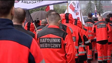 Ratownicy medyczni rozpoczęli ogólnopolski protest