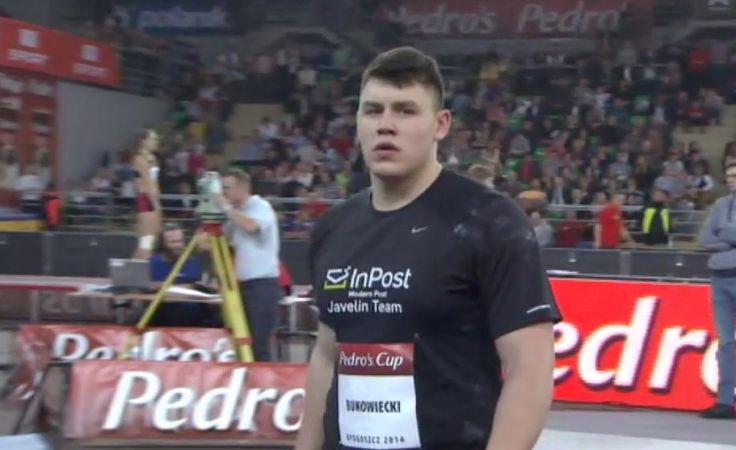 Konrad Bukowiecki po raz kolejny poprawił  swój własny rekord świata.