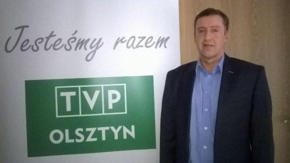 Jerzy Litwiński, dyrektor OSiR w Olsztynie