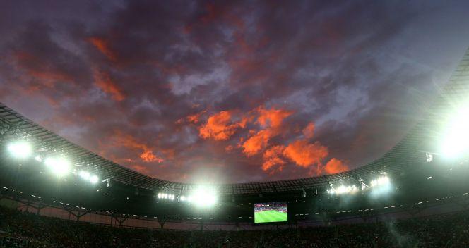 Imponujący widok na stadion we Wrocławiu (fot. Getty Images)