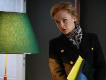 Tymczasem w kancelarii zjawia się siostra Kaszuby. Czy to zapowiedź kłopotów? (fot. A. Grochowska)