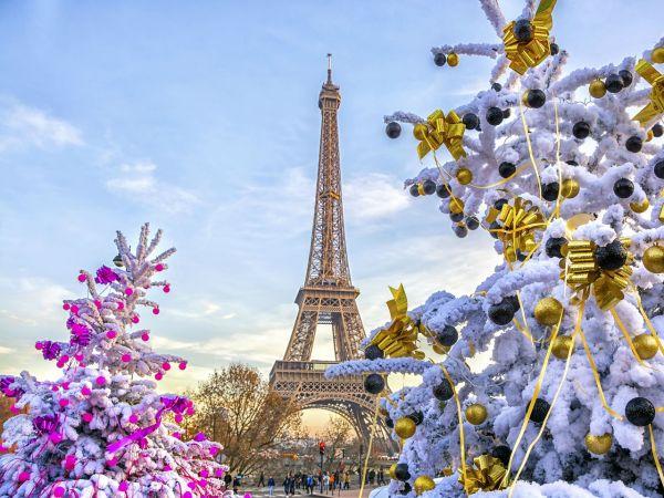 Święta w Paryżu...