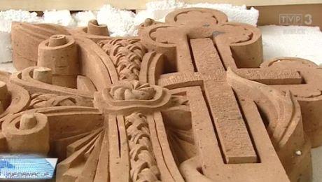 Chaczkar - ormiański krzyż w kieleckim
