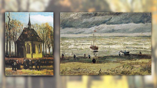 Obrazy Van Gogha odnalezione. Są warte 100 mln dol.