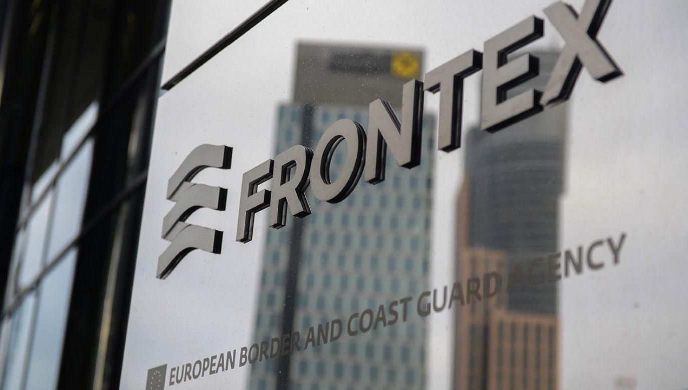 Siedziba Frontex w Warszawie (fot. PAP/Jakub Kamiński)