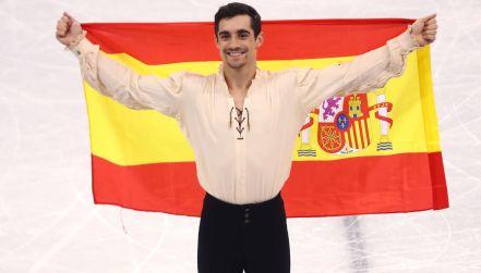 Taniec Javiera Fernandeza wart brązowego medalu