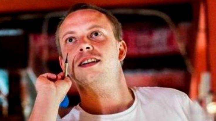 Daniel Rydzewski mierzy około 170 cm wzrostu (fot. KWP Olsztyn)