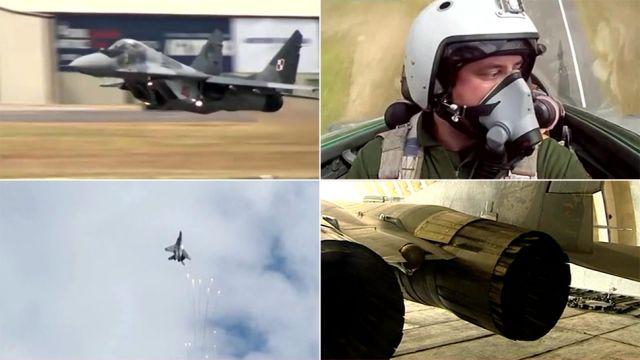 """Polski pilot MiG-a gwiazdą YouTube'a. """"Trzeba się szkolić całe życie"""""""