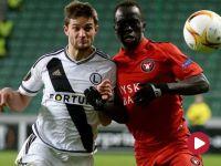 Liga Europejska: Legia Warszawa – FC Midtjylland (skrót)