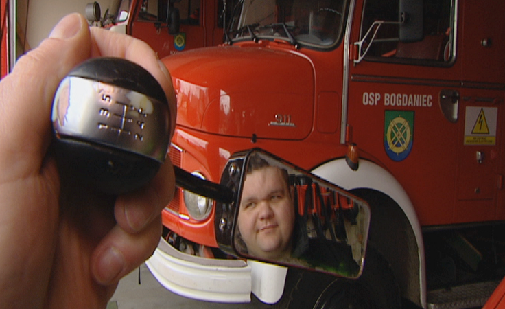 Strażacy ochotnicy mają pięciobiegowe lusterko