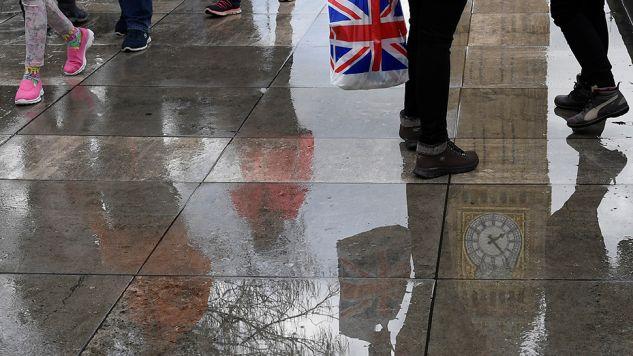 Londyn nie zamierza uznawać jurysdykcji unijnego Trybunału Sprawiedliwości (fot. REUTERS/Toby Melville)