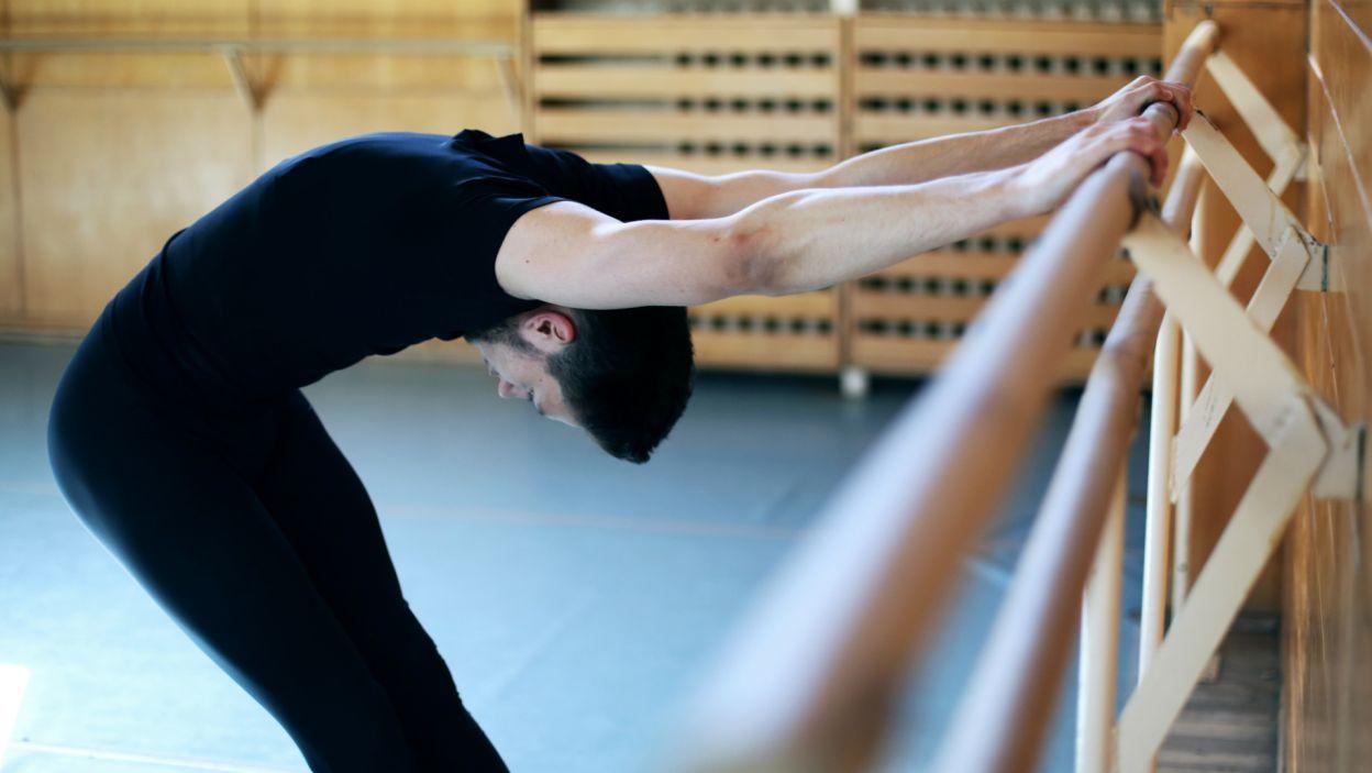 Każdy z uczestników konkursu podkreśla, że rozgrzewka to kluczowy moment ich treningu (Mateusz Dryll, fot. Z. Gąsiorowska)