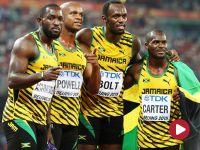 Bolt znów lepszy od Gatlina, złoto dla Jamajki