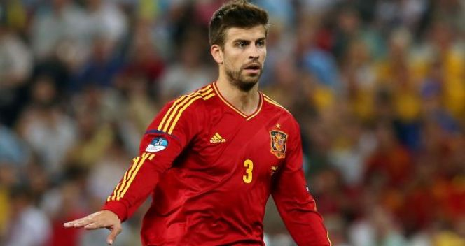 Gerard Pique imponował spokojem (fot. Getty Images)