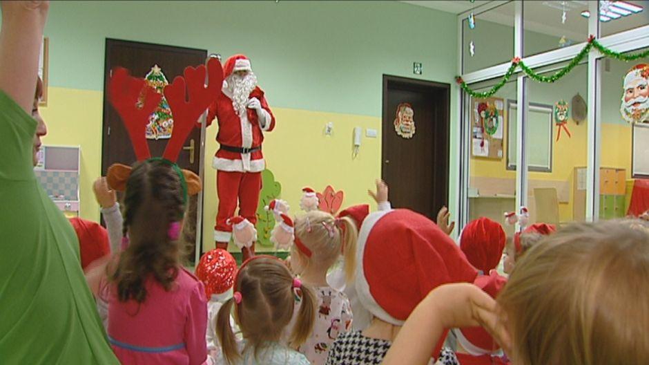 Pracowity dzień Świętego Mikołaja