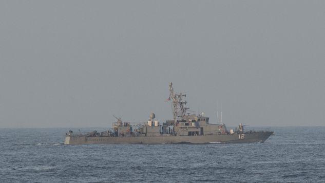 USS Thunderbolt oddał strzały ostrzegawcze (fot. U.S. Naval Forces Central Command/U.S. Fifth Fleet)