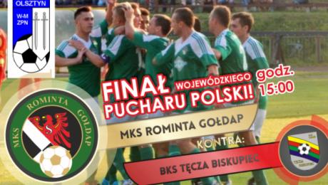 Rok temu wojewódzki Puchar Polski zdobyli piłkarze Olimpii Olsztynek (fot. mksrominta.pl)