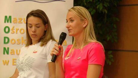 Młodzi wioślarze spotkali się z mistrzyniami z Rio de Janeiro