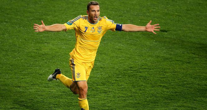 Szybko zrewanżowali się gospodarze. Gola strzelił Andrij Szewczenko (fot. Getty)