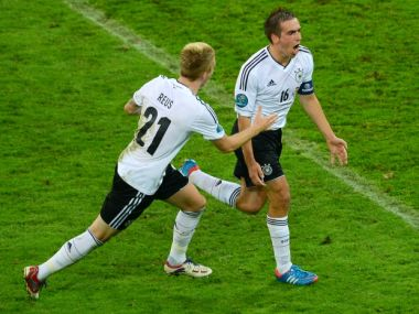Philipp Lahm i Marco Reus (fot. Getty Images)