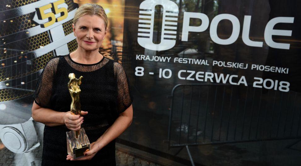 Grażyna Auguścik została z kolei Artystą bez granic (fot. TVP)