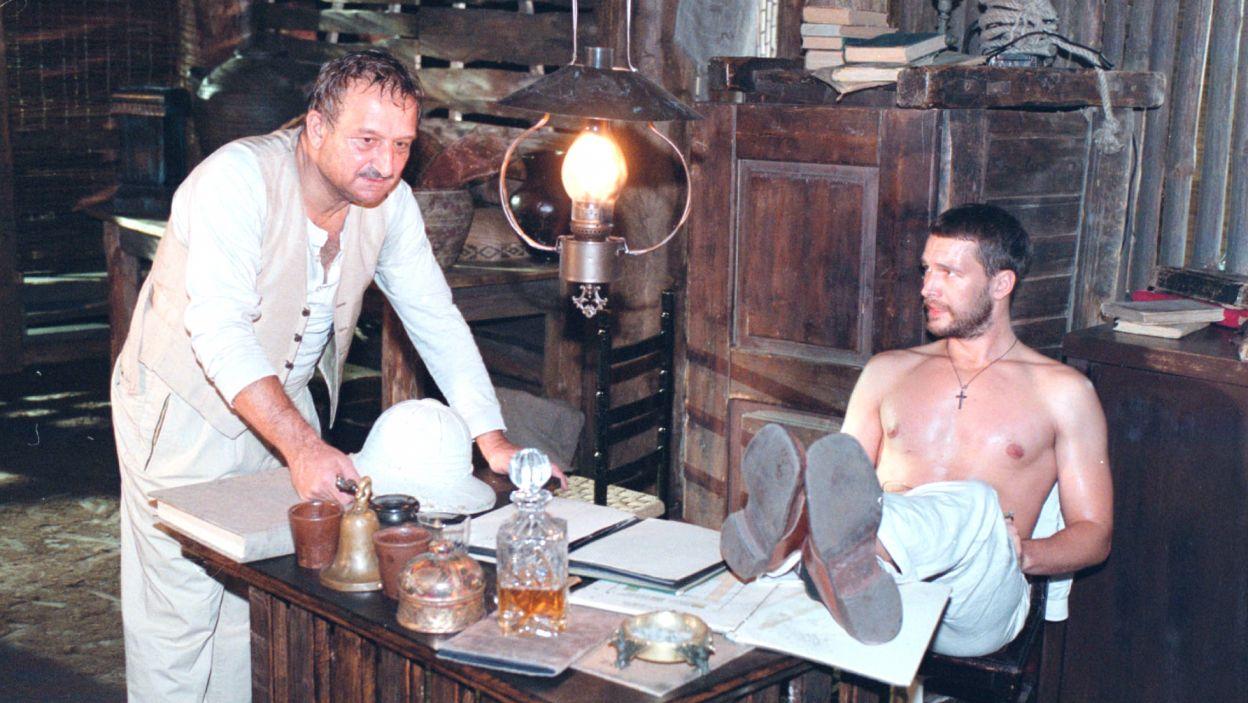 U jego boku wystąpili również Michał Żebrowski oraz Kazimierz Kaczor (fot. TVP)