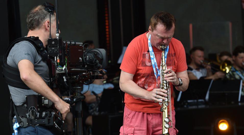 ...i Robert Chojnacki (fot. I. Sobieszczuk/TVP)
