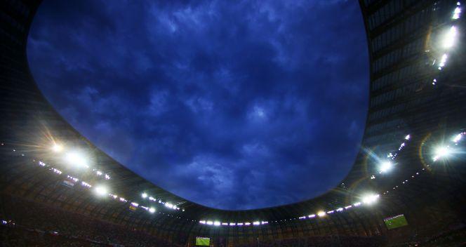 Piękna panorama stadionu w Gdańsku (fot. Getty)