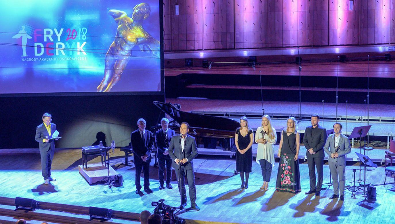 Gala odbyła się w Studiu Koncertowym Polskiego Radia imienia Witolda Lutosławskiego w Warszawie (fot. PAP/Stach Leszczyński)