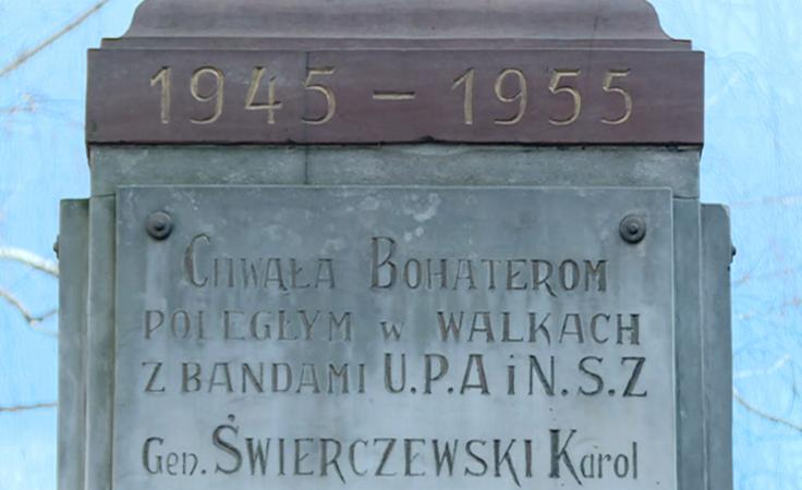 Kontrowersje wokół pomnika w Przemyślu