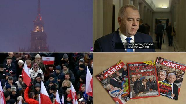 """MSZ wytyka BBC błędy w materiale o """"putinizacji"""" Polski. """"Uproszczenia, nieprecyzyjny język, mroczne ujęcia Warszawy"""""""