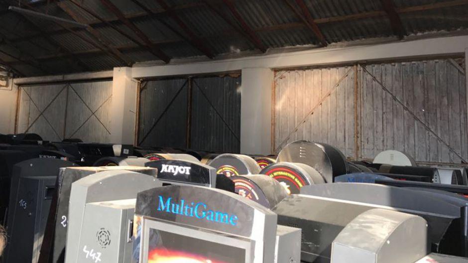 Automaty stały w pomieszczeniu gospodarczym