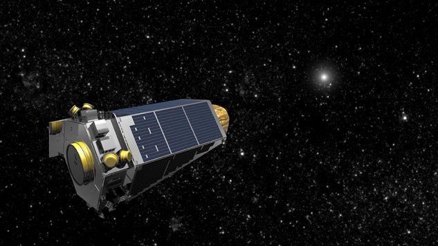 Teleskop Keplera na grafice NASA (fot.  REUTERS/NASA)