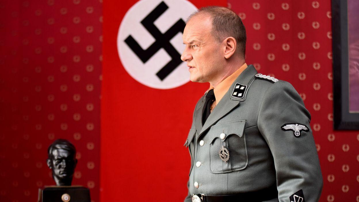 Rolę niemieckiego pułkownika wykreował Redbad Klynstra-Komarnicki (fot. Agata Ciołek)