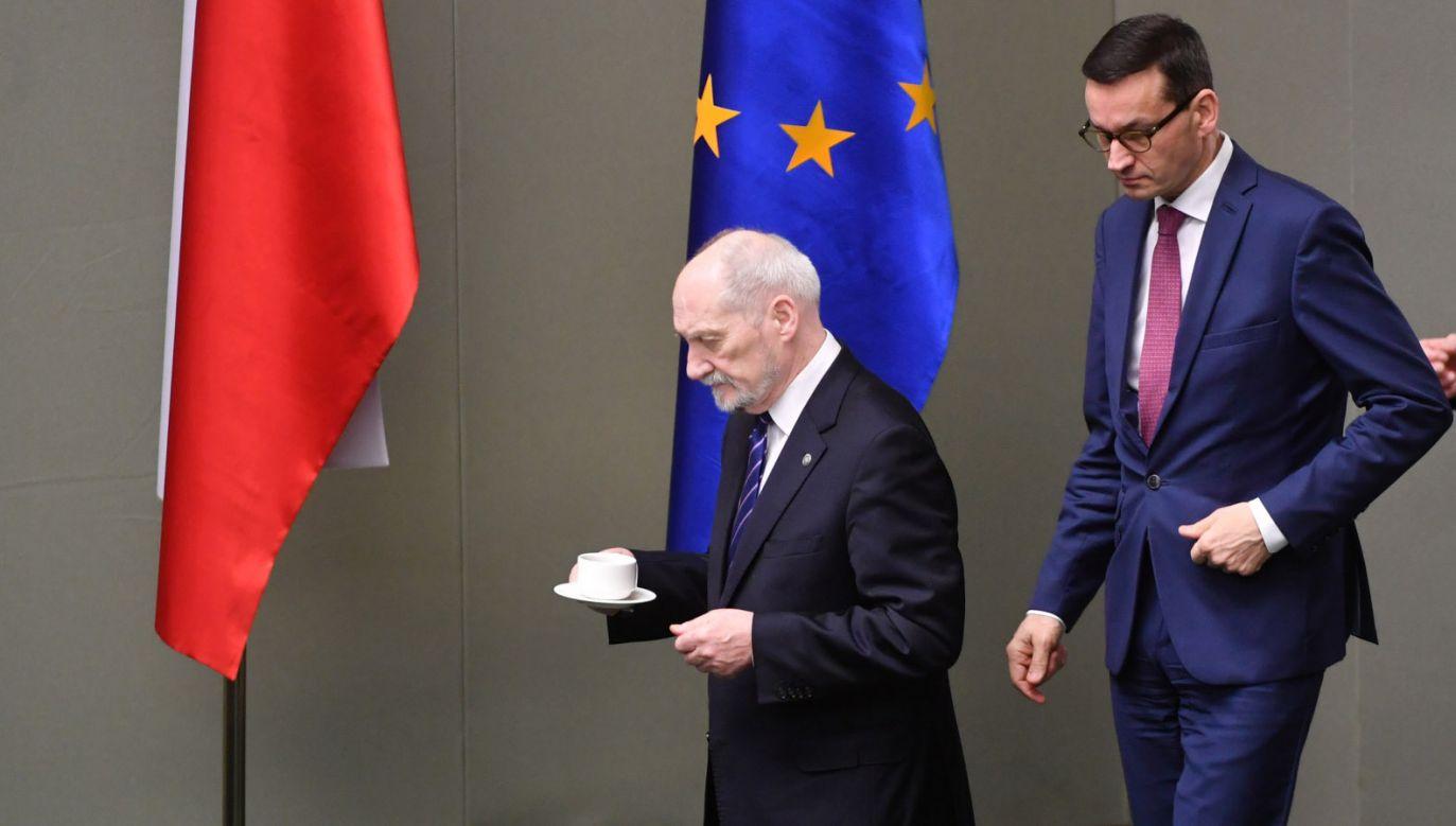 Czy Antoni Macierewicz będzie ministrem w rządzie Mateusza Morawieckiego?  (fot. PAP/Bartłomiej Zborowski)  (fot. PAP/Bartłomiej Zborowski)