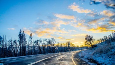 Uwaga na oblodzenia i śliskie drogi
