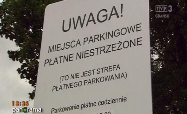 Decyzja wojewody pomorskiego w sprawie parkingów