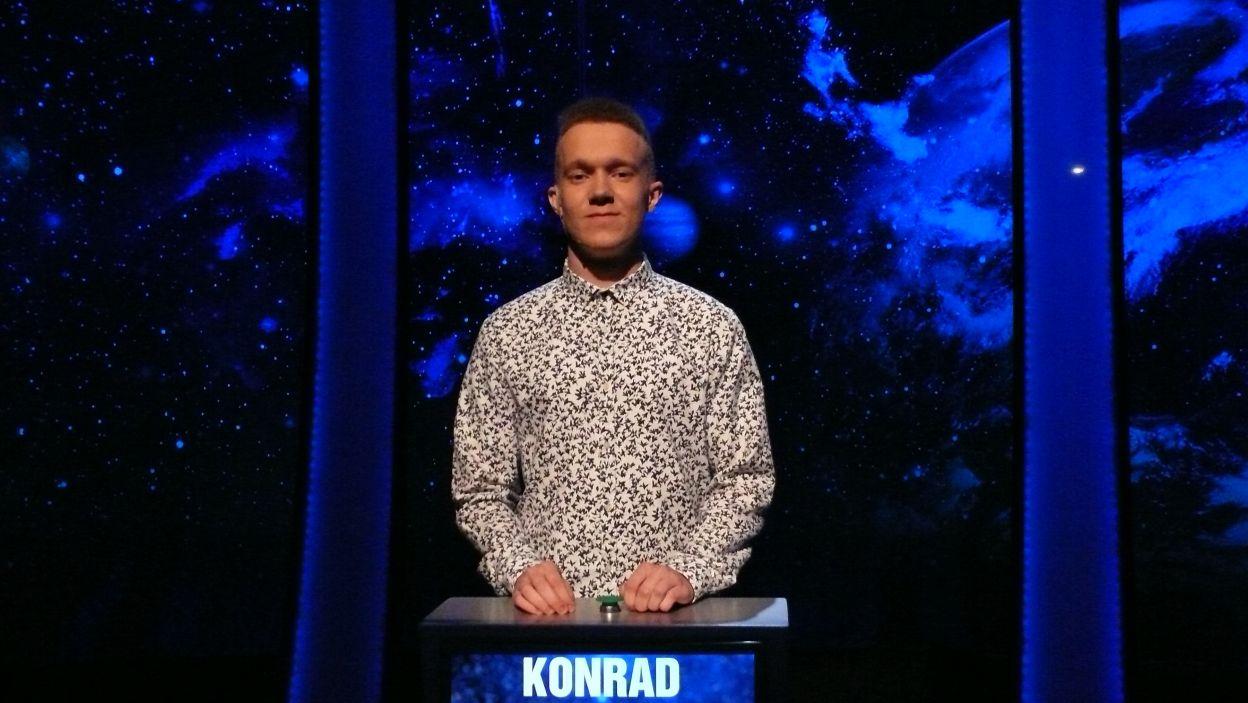 Konrad Krasuski - zwycięzca 1 odcinka 100 edycji