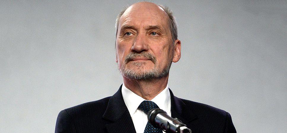 Antoni Macierewicz (fot. arch.PAP/Bartłomiej Zborowski)