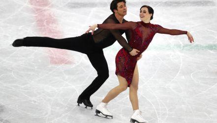 Łyżwiarstwo figurowe: kanadyjska para przypieczętowała złoto drużyny