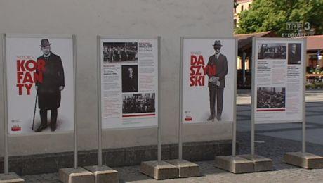 Wystawa o zasłużonych Polakach w Chełmnie, na 100-lecie niepodległości