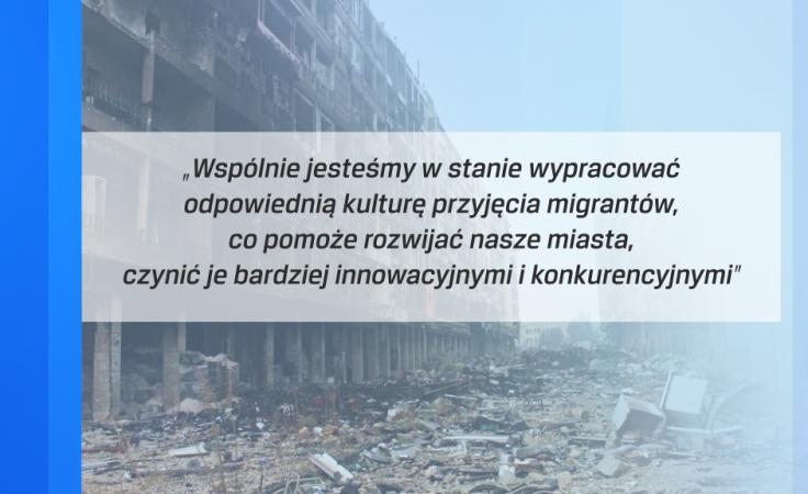 Fragment deklaracji prezydentów (fot. TVP3 Wrocław; PAP/EPA/STRINGER)