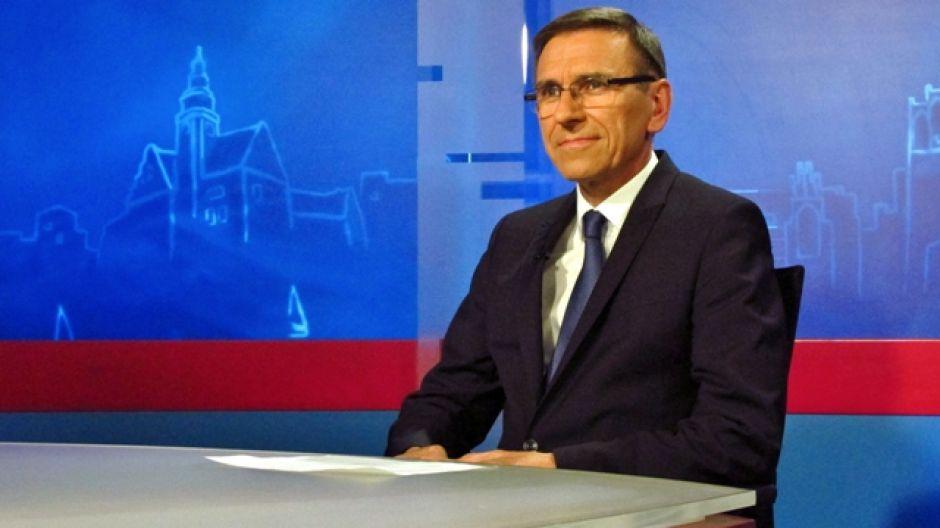 Piotr Grzymowicz, prezydent Olsztyna.