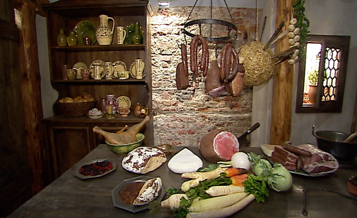 Tak wyglądały wnętrza kupieckich domów w Jarosławiu w  XVI wieku.