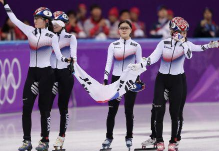 Rekord świata w... finale B. Koreanki złote w sztafecie