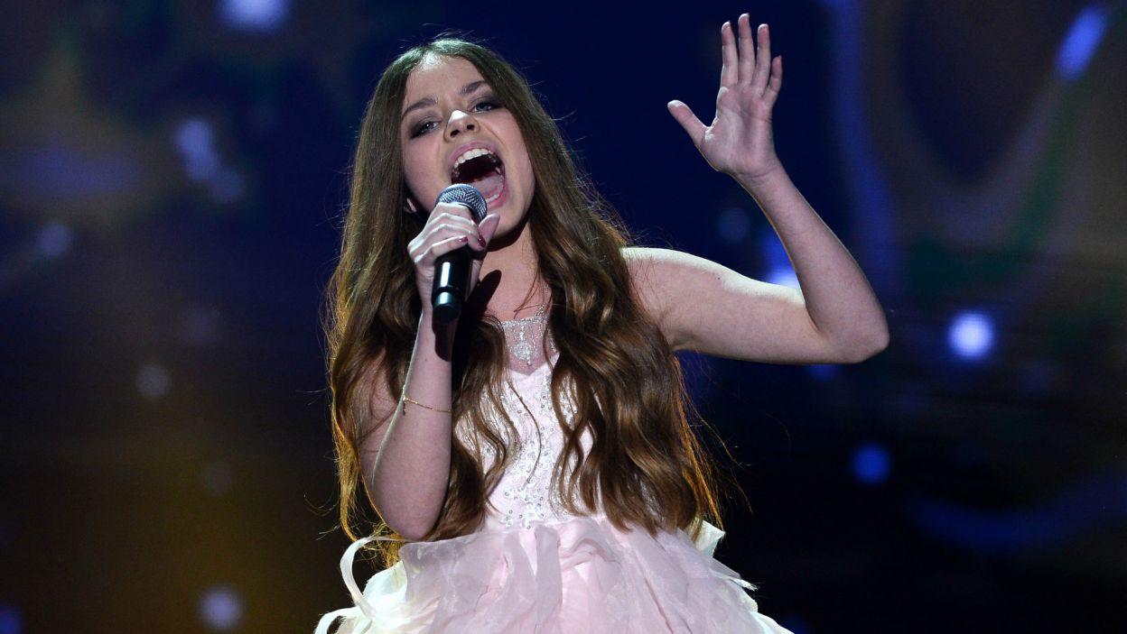 ...ani Olivii Wieczorek, uczestniczki ostatniego konkursu Eurowizji Junior (fot. Jan Bogacz/TVP)