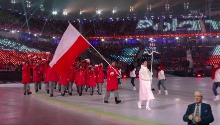 Ceremonia otwarcia igrzysk paraolimpijskich: prezentacja Polaków