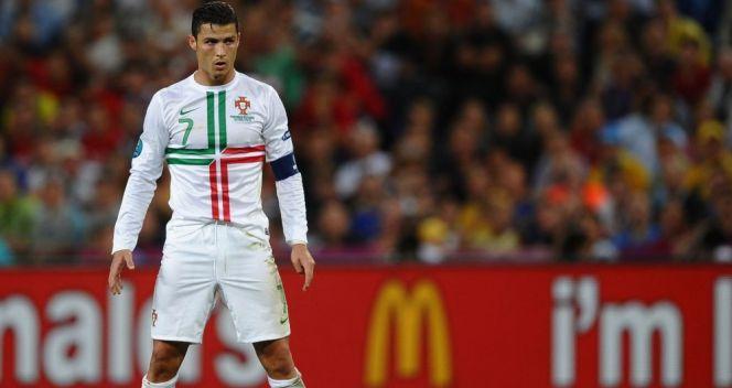 Cristiano Ronaldo wbrew obawom nie zawiódł i doprowadził Portugalię do brązowego medalu (fot. Getty Images)