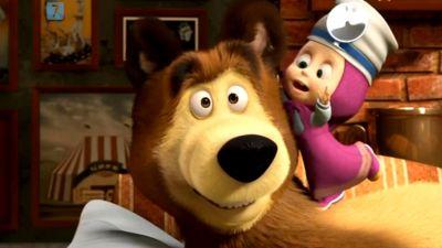 Masza i niedźwiedź: Uśmiech proszę, odc. 34